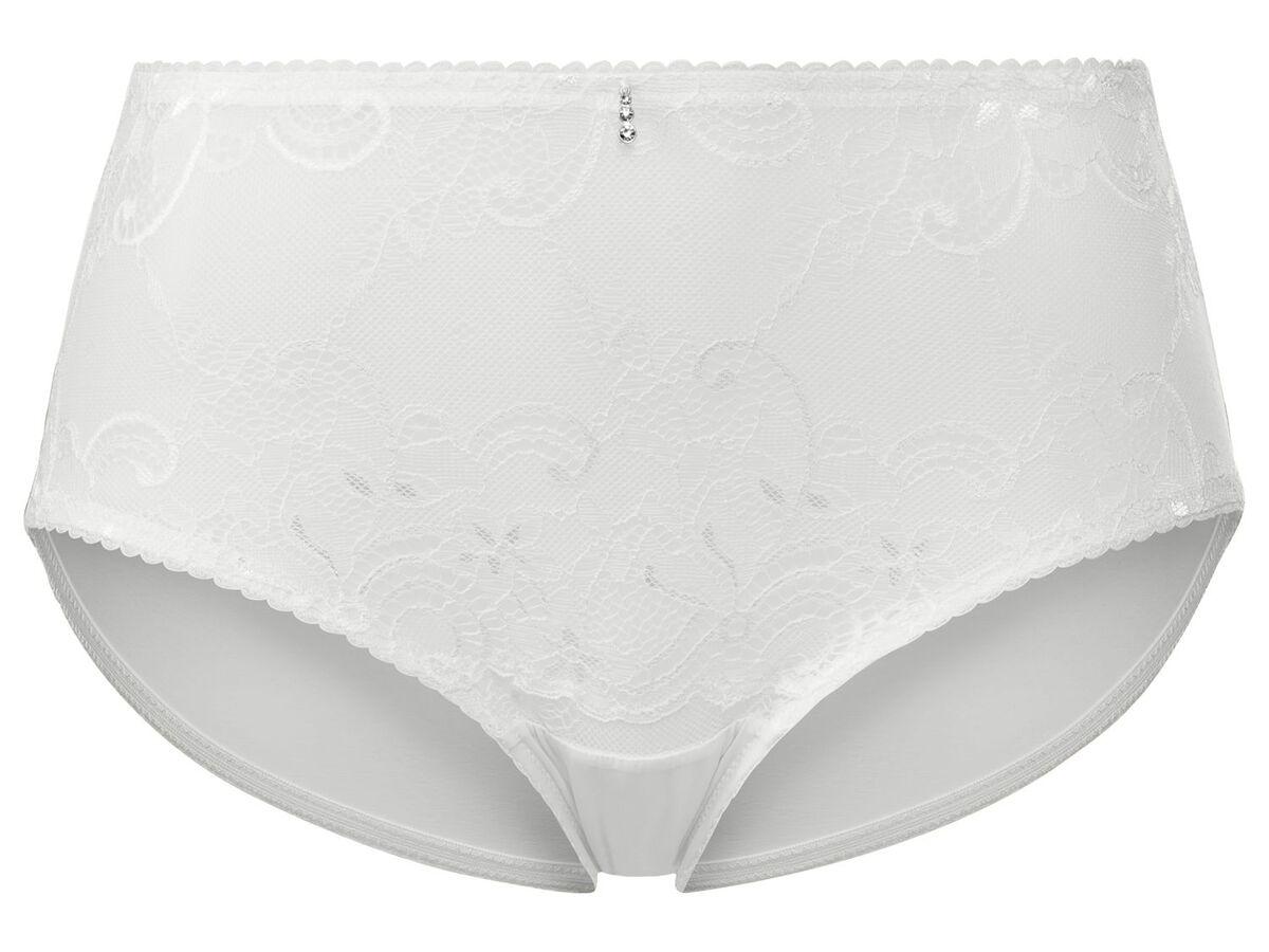 Bild 4 von ESMARA® Lingerie Unterwäsche Damen, Slip, 3 Stück, mit Spitze