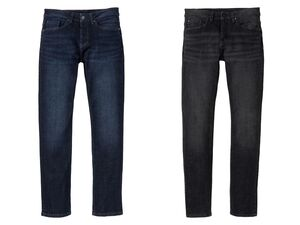 LIVERGY® Jeans Herren, Slim Fit, in 5-Pocket-Style, hoher Baumwollanteil, mit Elasthan