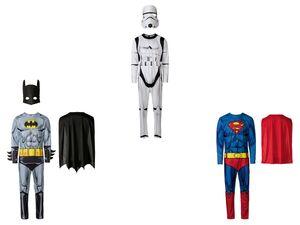 Faschingskostüm Herren, Superheld, 2- oder 3-teilig