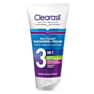 Clearasil Multitalent Waschcreme & Peeling 3in1 150ml