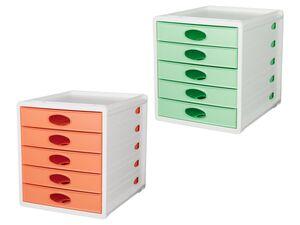 UNITED OFFICE® Schubladenbox für Unterlagen, 5 Fächer