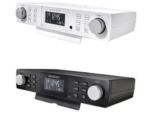 SILVERCREST® Küchenradio, zur Unterbaumontage oder zum Aufstellen, mit LCD-Anzeige