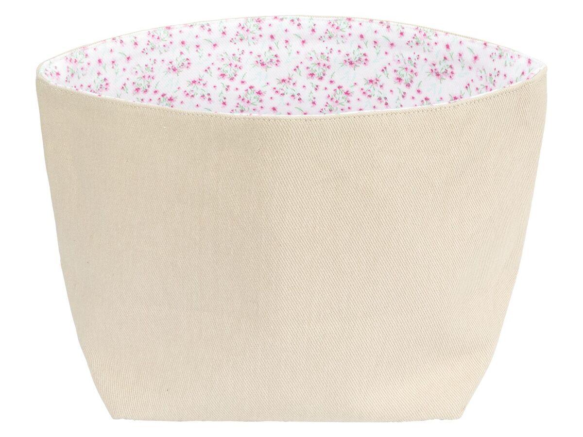 Bild 4 von ERNESTO® Brotkorb, faltbar, lebensmittelecht, Obermaterial aus Baumwolle