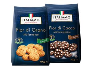 Italienische Mürbeteigkekse
