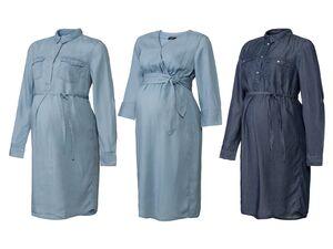 ESMARA® Umstandsmode, Hemdbluse, Kleid, seitliche Eingriffstaschen