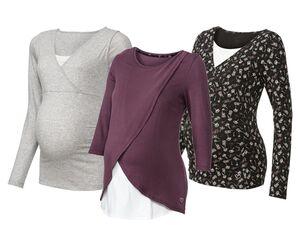 ESMARA® Umstandsmode, Shirt, Layer-Look, mit Stillfunktion, mit Elasthan