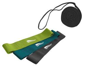 CRIVIT® Fitnessbänder/Stretch-Band, verschiedene Trainingsintensitäten, mit Naturkautschuk