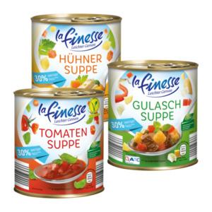 LA FINESSE     Leichte Suppe