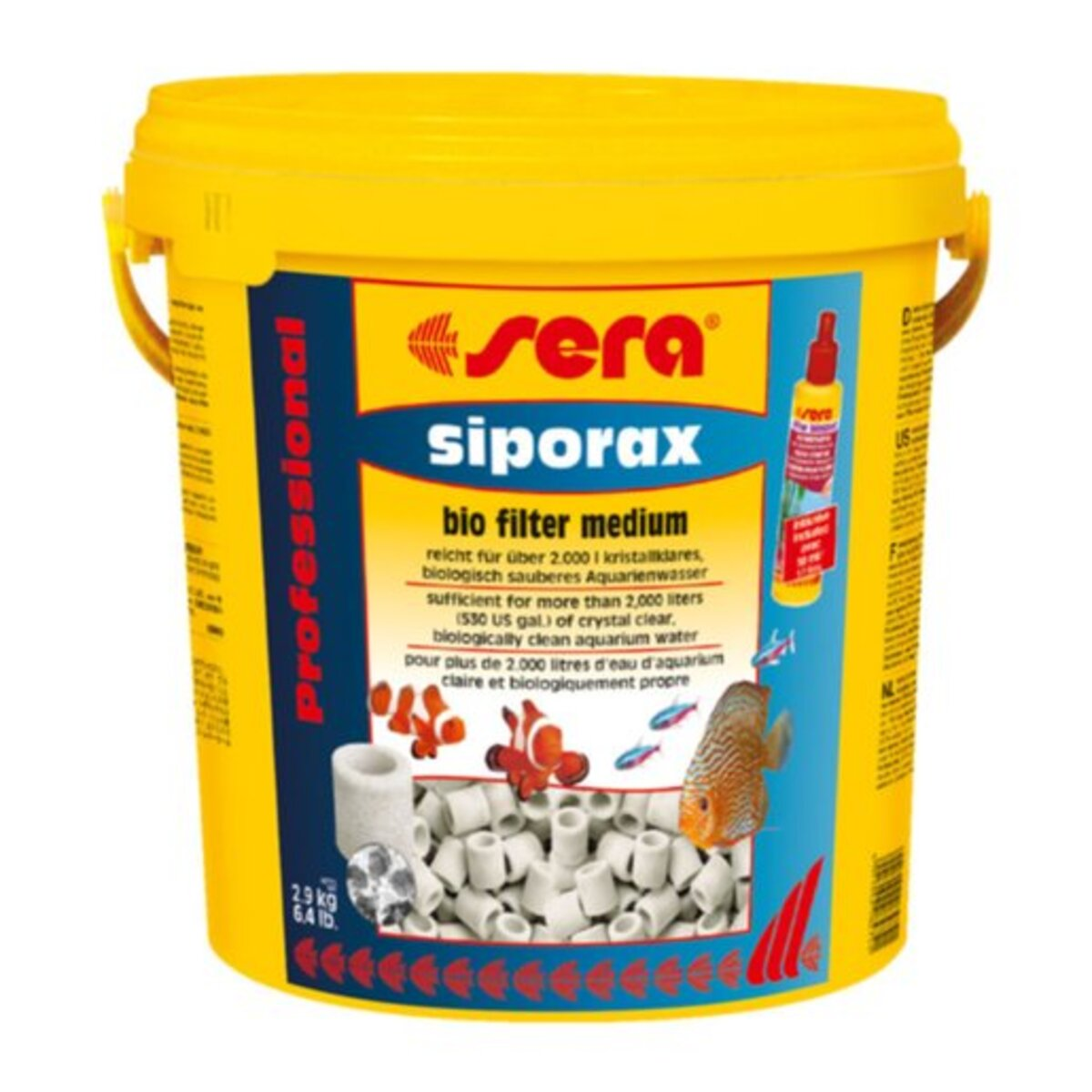 Bild 1 von sera siporax Professional 10 l