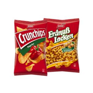 Lorenz Crunchips oder Erdnusslocken