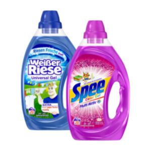 Spee oder Weißer Riese Waschmittel