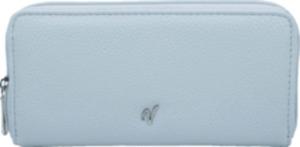 Vleder-Bag Clutch / Geldbörse SEATTLE hellblau