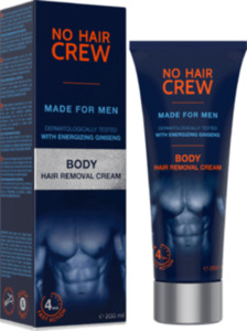 No Hair Crew Haarentfernungscreme Body