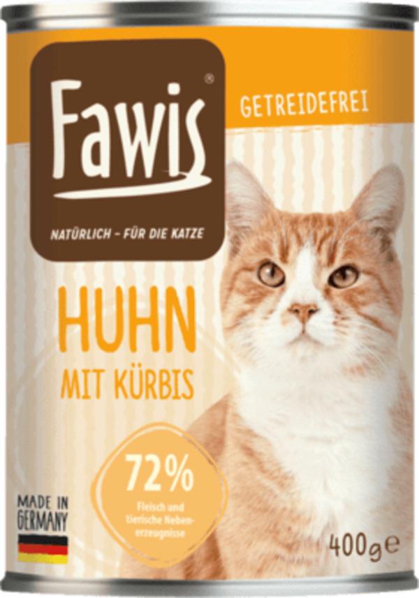 Fawis Nassfutter Fur Katzen Adult Huhn Mit Kurbis Von Dm Ansehen