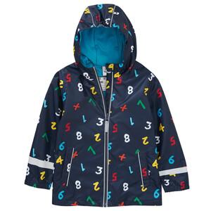 Jungen Regenjacke mit Kapuze