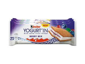 Kinder Yogurt'In Schnitte