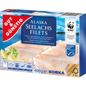 Gut & Günstig Alaska Seelachsfilets