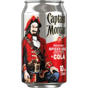 Johnnie Walker & Cola, Captain Morgan Dose oder Gordons Gin & Tonic