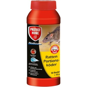 Ratten Portionsköder 50 Portionen à 10 g