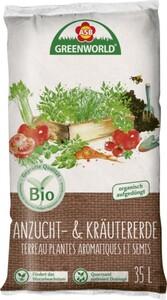 ASB Greenworld Bio Anzucht- und Kräutererde ,  16 l