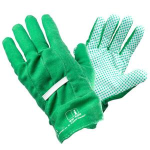 Gartenhandschuhe aus Baumwolle grün Größe 8
