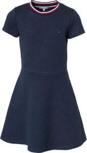 Kinder Jerseykleid dunkelblau Gr. 128