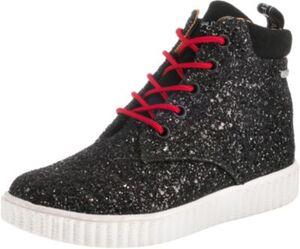 Sneakers High TAYLOR GLITTER,  schwarz Gr. 37 Mädchen Kinder