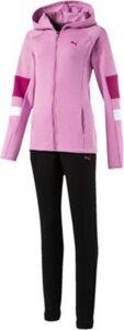 Jogginganzug mit Kapuze  rosa Gr. 116 Mädchen Kleinkinder