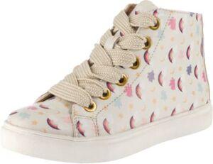 Sneakers High Cherry Rainbow  creme Gr. 40 Mädchen Kinder
