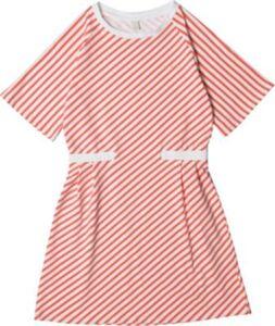 Kinder Jerseykleid koralle Gr. 140/146 Mädchen Kinder