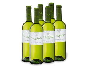 6 x 0,75-l-Flasche Weinpaket Mezquirz Chardonnay trocken, Weißwein