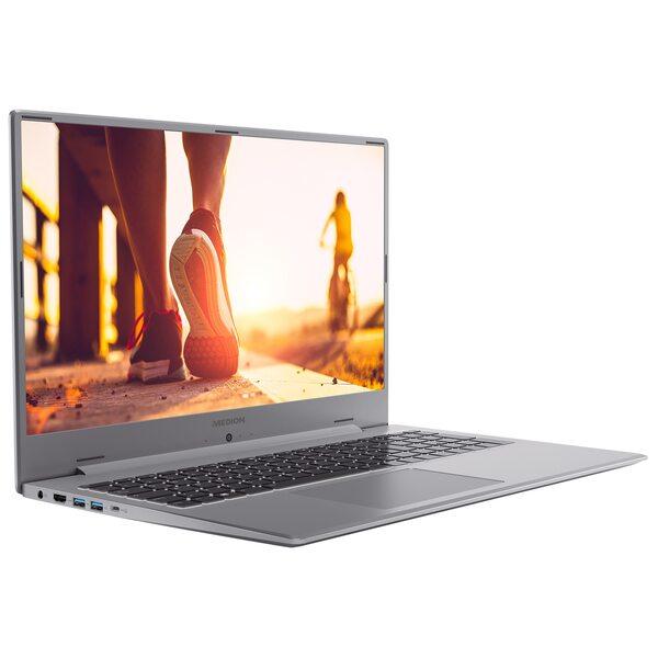 "MEDION AKOYA® P17605, Intel® Core™ i7-10510U, Windows10Home, 43,9 cm (17,3"") FHD Display, MX250, 512 GB SSD, 8 GB RAM, Schlankes Design, Schnellladefunktion, Notebook"