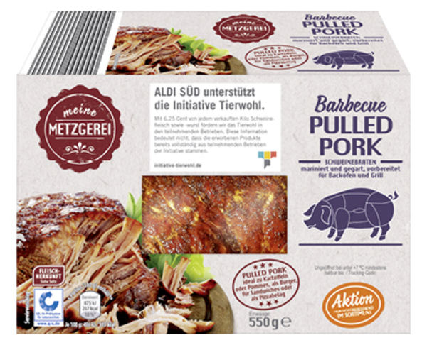 MEINE METZGEREI Barbecue Pulled Pork