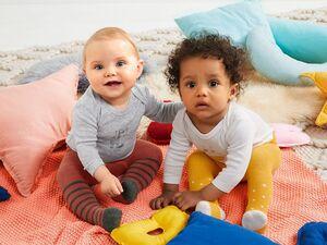 LUPILU® 6 Baby Mädchen Bodys/Wickelbodys