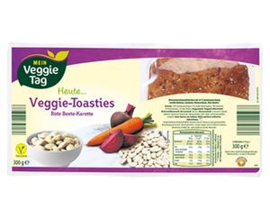MEIN Veggie Tag Veggie-Toasties