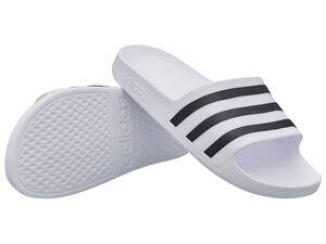 adidas Badepantoletten »adilette aqua«, rutschfeste Sohle, mit weicher Dämpfung