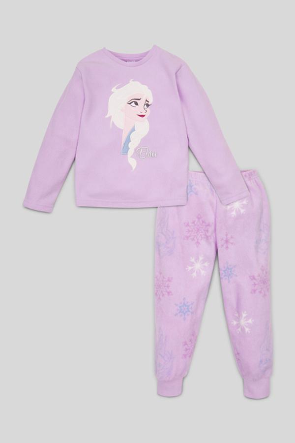 Die Eiskönigin - Fleece-Pyjama - Glanz Effekt