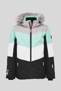 Skijacke - gestreift