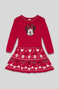 Minnie Maus - Weihnachtskleid - Glanz Effekt