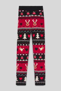 Weihnachts-Winterleggings