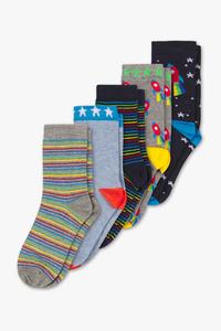 Socken - 5er Pack