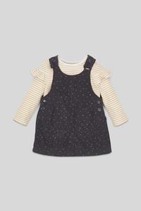 Baby-Outfit - 2 teilig - Glanz Effekt