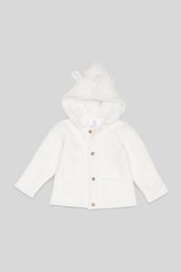Baby-Strickjacke - Bio-Baumwolle