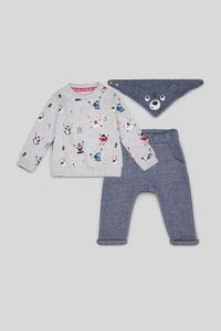 Baby-Weihnachts-Outfit - Bio-Baumwolle - 3 teilig