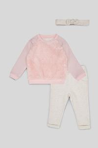 Baby-Outfit - 3 teilig - Glanz Effekt