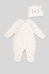 Baby-Schlafanzug - Bio-Baumwolle - 2 teilig