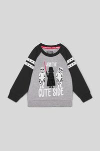 Star Wars - Baby-Sweatshirt - Bio-Baumwolle