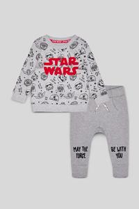 Star Wars - Baby-Outfit - Bio-Baumwolle - 2 teilig