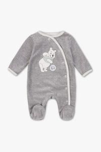 Disney - Baby-Schlafanzug - Bio-Baumwolle - gestreift