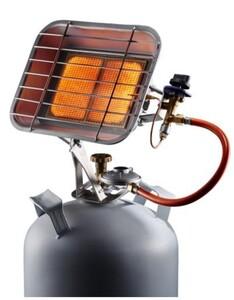 Rowi Gas-Heizstrahler HGS 4600/1 ,  mit Schlauch und Regler